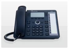 טלפון IP אודיוקודס IP430HDE